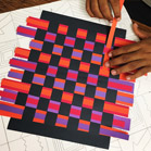 Family First Presented by Novant Health: Kente Inspired Paper Weaving and Card Making