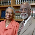 Geraldine Sumter and James E. Ferguson, II