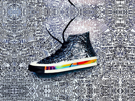Family First: Colorfully Custom - Sneaker Painting