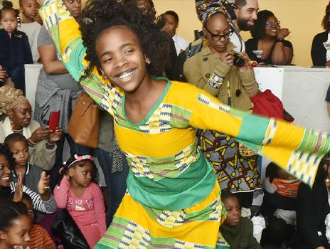 Family First: Afro-Brazilian Dance with Tamara Williams