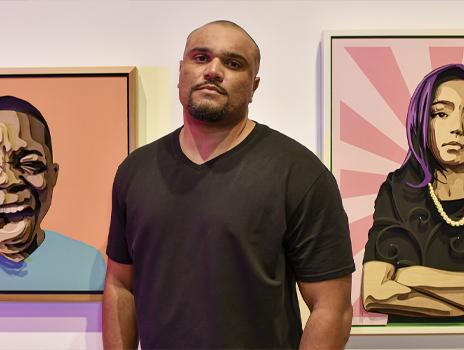 Open Air: Artist Percy King + Dexter Wimberly