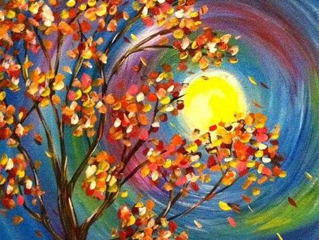 Paint & Sip: Fall Landscapes