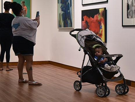 Levine Center for the Arts Stroller Tours at the Gantt Center